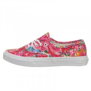 VANS Schuh Authentic Slim multifloral /white