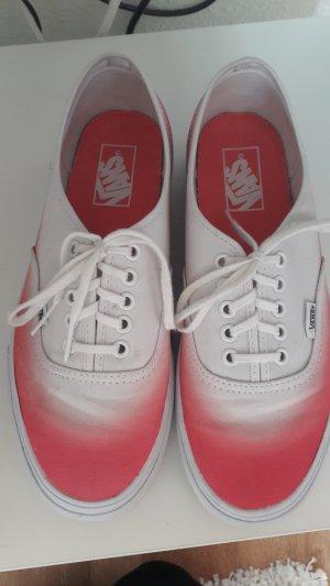 Vans schuhe Größe 41 pink weiß Sneaker