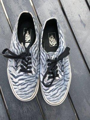 Vans Schwarz Grau Tigermuster