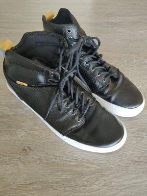 Vans schwarz Leder 44