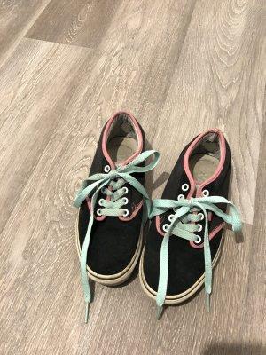 Vans schwarz/mint/rosa