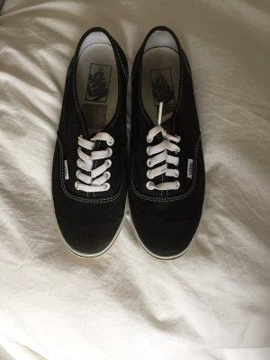 Vans Basket à lacet noir-blanc
