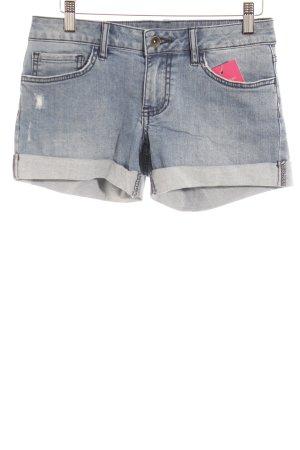 Vans Shorts blassblau-dunkelblau Casual-Look