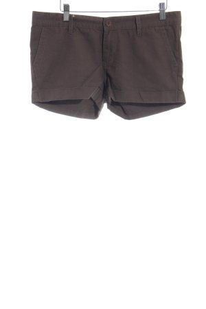 Vans Shorts braun Logo-Applikation