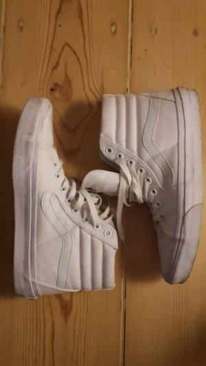 Vans Sk8-Hi Hohe Sneakers, weiß