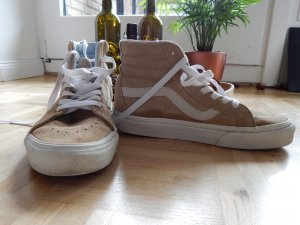 Vans High Top Sneaker beige-natural white