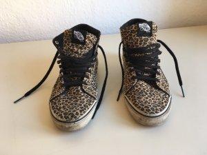 VANS sk8 hi Sneaker   Leopard animal Oldschool Skate hi top Punk Canvas rar   39