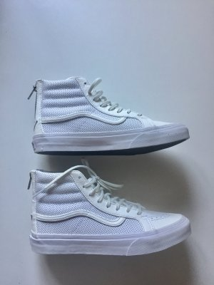 Vans Sk8 High Sneaker Leder Weiß