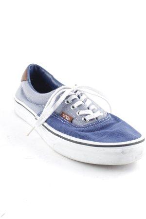 Vans Skaterschuhe blau-graublau Lederelemente