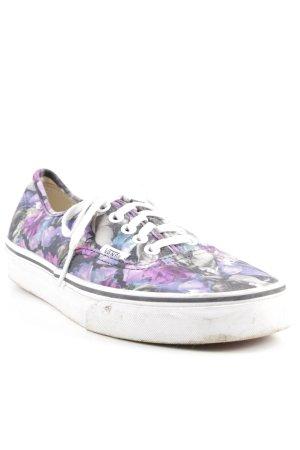 Vans Skaterschuhe florales Muster sportlicher Stil