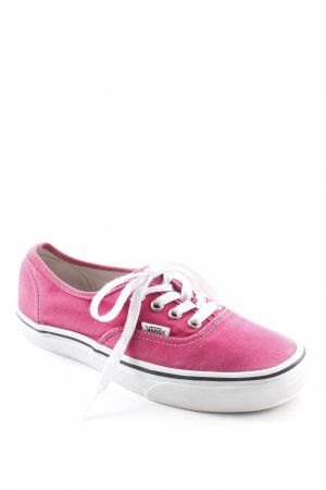 Vans Skaterschuhe pink Skater-Look
