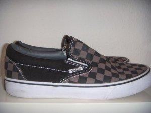 Vans Slip On - checkerboard schwarz/grau - wie neu