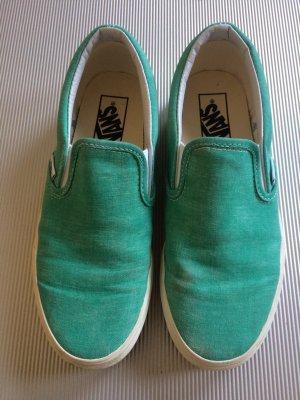 Vans Slip-on Grün, Größe 37 wie neu.