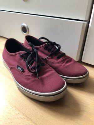 Vans Wedge Sneaker bordeaux-black