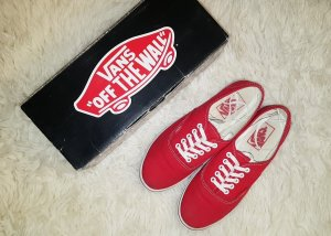 Vans Sneaker Authenic - Rot