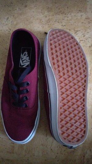 Vans Sneaker rot schwarz