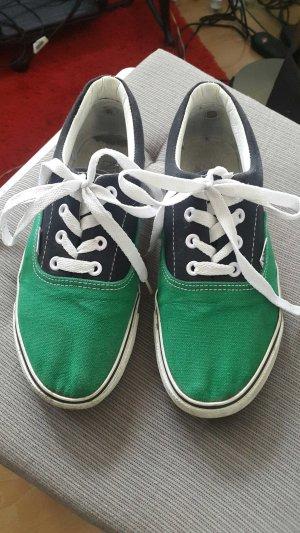 Vans Sneaker schwarz grün