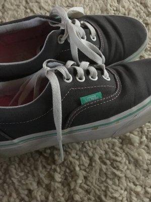 Vans Sneakers 'Era' dunkelgrau, smaragdgrün - Gr. 36