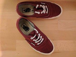 Vans Sneakers rot Größe 6/39
