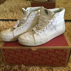 Vans Sportswear ( Skater Sneaker high in True White )