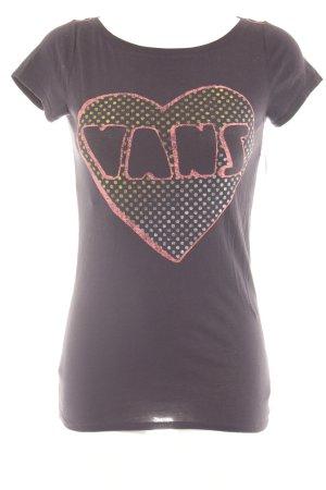 Vans T-Shirt Schriftzug gedruckt Casual-Look
