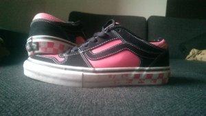 Vans TNT 2, Leder, Schwarz/Pink