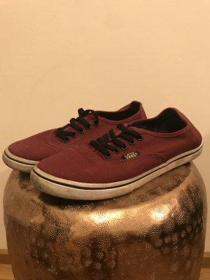 Vans - Weinrote Classic Sneaker