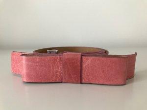 Vanzetti Gürtel mit Schleife, Echtleder, flamingo, Gr. 90