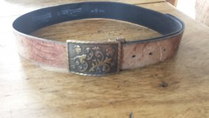 Vanzetti Leather Belt light brown leather