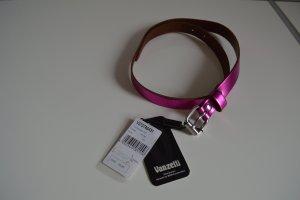 Vanzetti Leder Gürtel Gr. 80 pink Lack neu mit Etikett