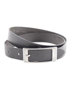 Vanzetti Cintura di pelle nero stile casual