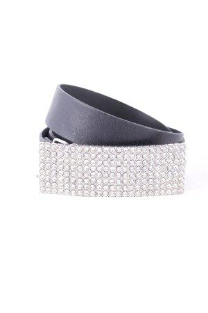 Vanzetti Leather Belt black extravagant style