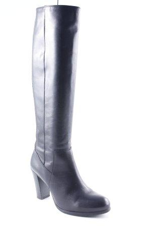 Varese Absatz Stiefel schwarz Elegant