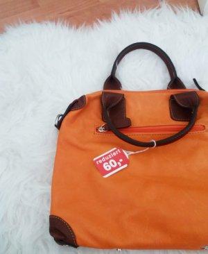 Varese kleine orangefarbene Tasche