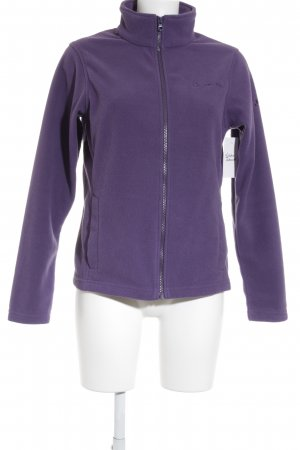 Vaude Fleecejacke lila Casual-Look