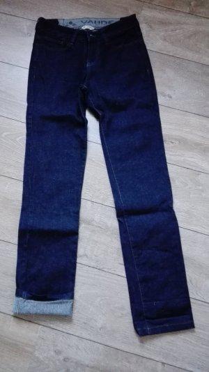 Vaude Jeans Hose Gr. 36/xs blau