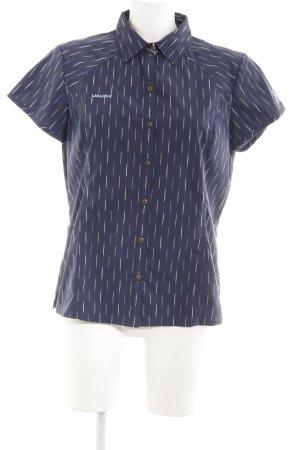 Vaude Camisa de manga corta estampado con diseño abstracto look retro