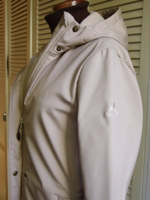 Vaude Hooded Coat oatmeal polyester