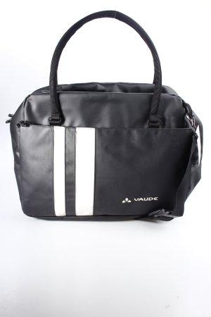 Vaude Notebooktasche schwarz-weiß Eingriffstasche außen