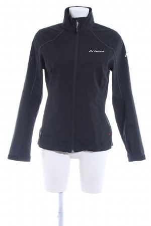 Vaude Outdoorjacke schwarz Casual-Look