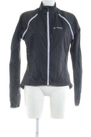 Vaude Outdoorjacke schwarz-weiß Casual-Look