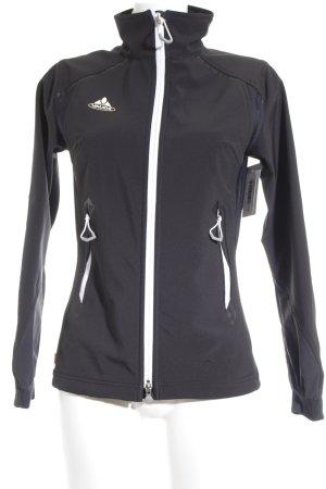 Vaude Outdoorjacke schwarz-weiß sportlicher Stil