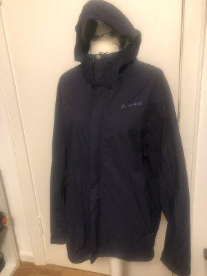 Vaude Raincoat dark blue
