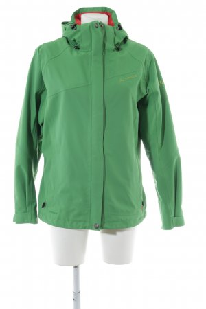 Vaude Raincoat green-red athletic style