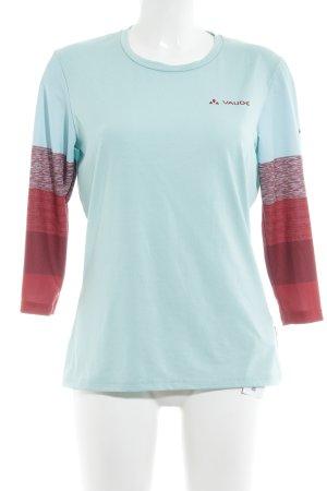 Vaude Sportshirt veelkleurig atletische stijl