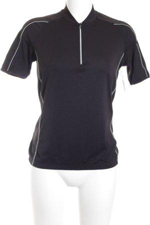 Vaude Sportshirt schwarz-weiß sportlicher Stil