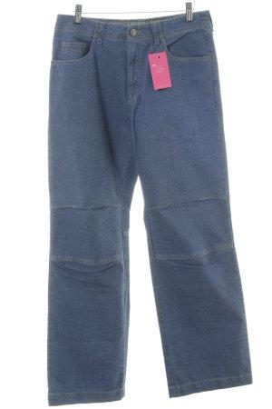 Vaude Jeans met rechte pijpen blauw casual uitstraling