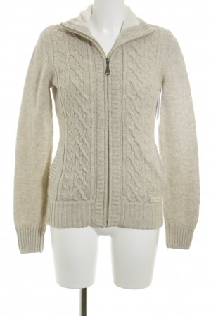 Vaude Strickjacke beige Casual-Look