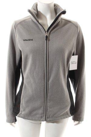 Vaude Sweatjacke grau Casual-Look