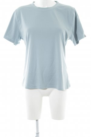 Vaude T-shirt neon blauw simpele stijl